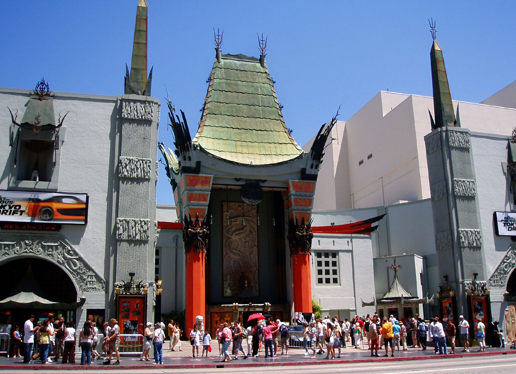 Il Chinese Theatre a Hollywood