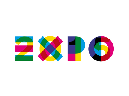 Il logo di Expo 2015 a Milano