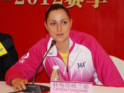 Spazio all'Italia nel volley cinese La pioniera Carolina ...