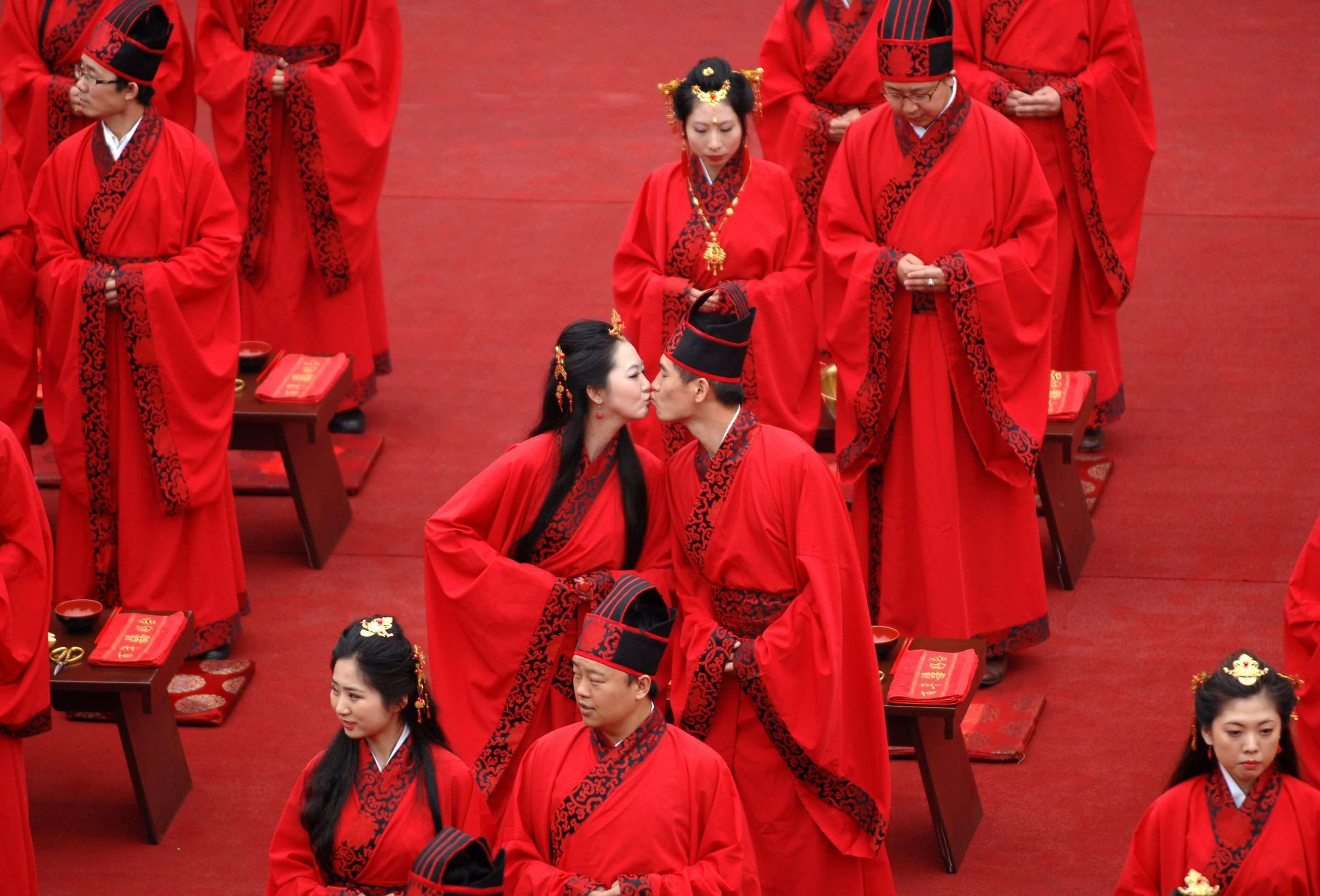 Свадьбы в китае фото