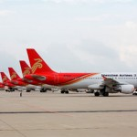 Gli aerei della Shenzhen Airlines